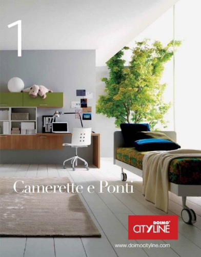 Doimo Cityline catalogo Camerette e ponti - categoria: Camerette