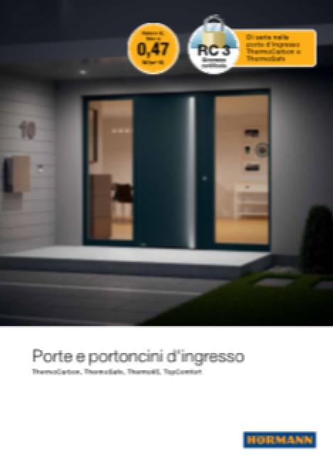 Hormann Porte e Portoncini - categoria: Infissi