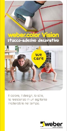 weber color Vision - categoria: Rivestimenti