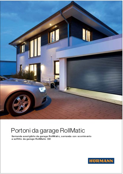 Hormann Serranda Garage RollMatic - categoria: Infissi