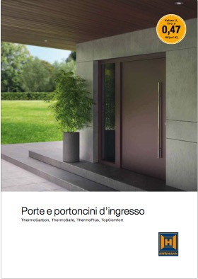 Hormann Porte ingresso ThermoSafe ThermoCarbon - categoria: Infissi
