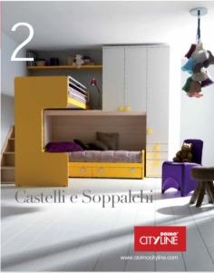 Doimo Cityline catalogo Castelli e soppalchi