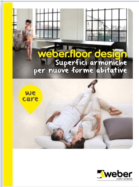 Weber superfici armoniche nuove forme abitative - categoria: Rivestimenti