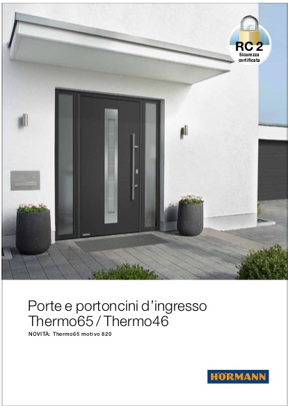 Hormann Thermo65 Thermo46 - categoria: Infissi