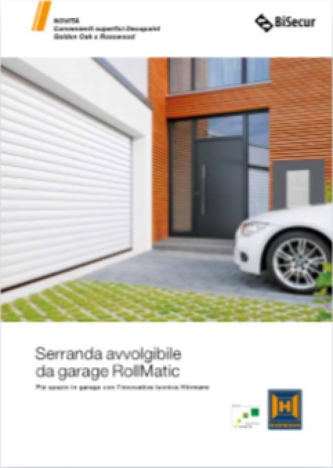 Hormann Serranda avvolgibile da garage Rollmatic - categoria: Infissi
